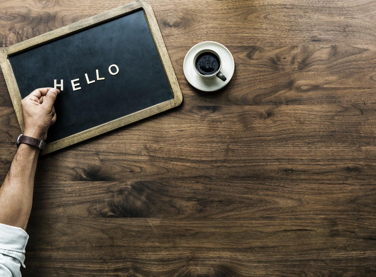 Hello world Angular
