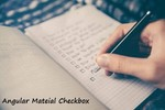 Checkbox Implementation In Angular Using Mat-Checkbox(Material Component)