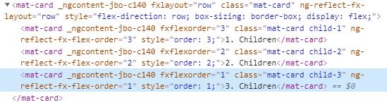 fxFlexOrder CSS