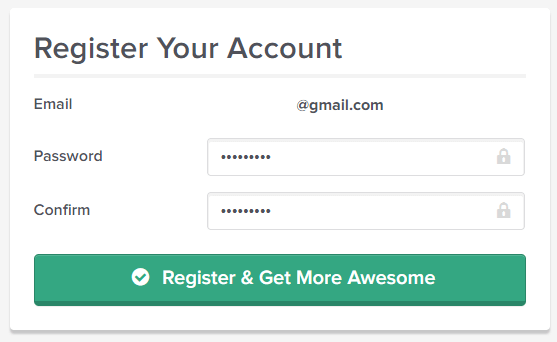 font awesome cdn register
